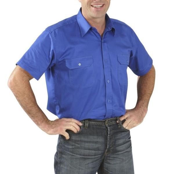Arbeitshemd Köperhemd 1/4-Arm Planam