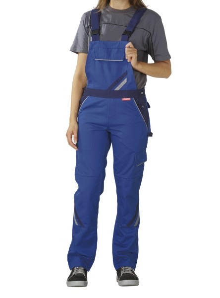 Frauen Arbeitslatzhose blau