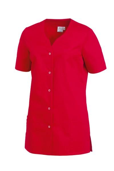 Kasack rot Kittel Damen Berufsmode Pflege Praxis