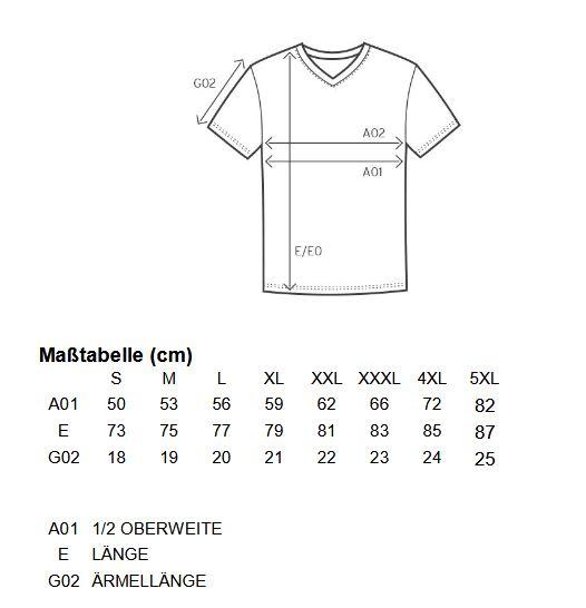 groessentablle-t-shirt