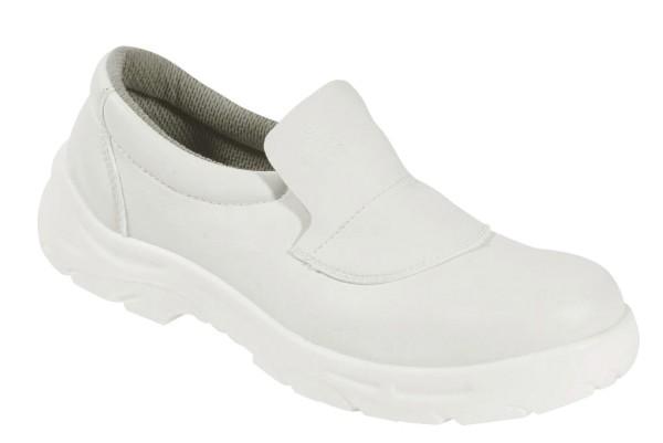 weiße Slipper S2 Sicherheitsschuhe Küchenschuhe
