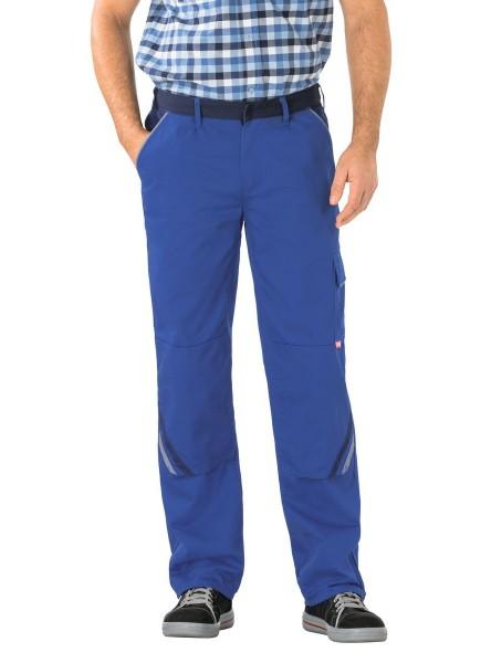 blaue Arbeitshosen Bundhosen