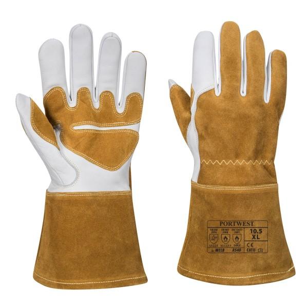 Schweißer Schutzhandschuhe Leder SHitzeschutzhandschuhe A540
