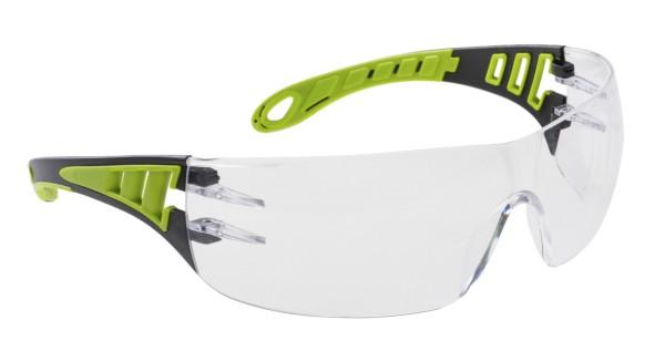 metallfreie Schutzbrille grün