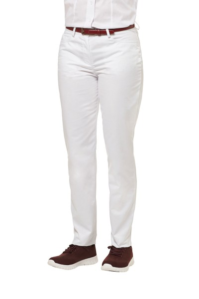 Jeans Berufshose Damen weiß