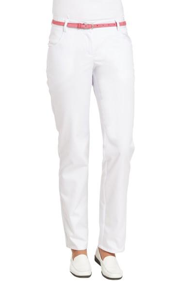 Industriewäsche Damenhose Berufshose Leiber 6970 weiss Gummizug