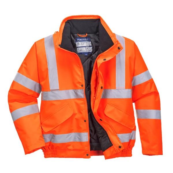 Warnschutzjacke Pilotenjacke orange
