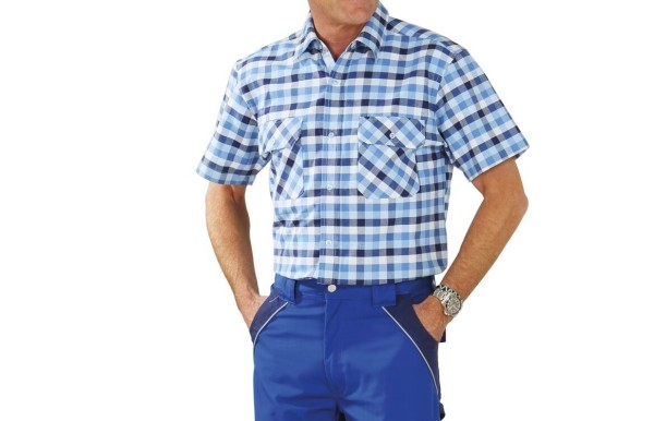 Arbeitshemd Countryhemd 1/4-Arm Planam