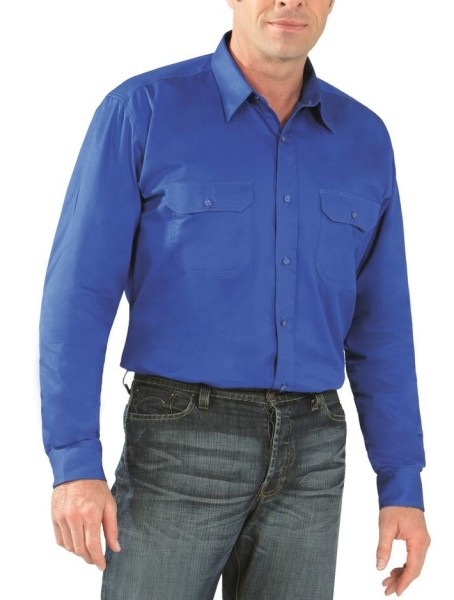 Arbeitshemd Köperhemd 1/1-Arm Planam