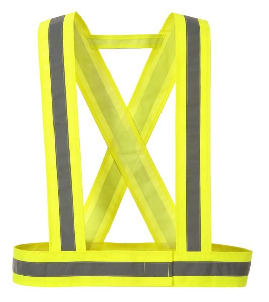Warnschutz Zubehör Träger Fahrrad Gurt Hosentraeger HV 55 Geschirr