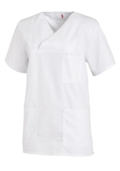 Kasack Schlupfkasack T-Shirt weiß Pflege Medizin