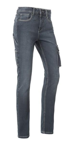Damen Jeans Arbeitshose Lisa Stretch Material Slim Fit