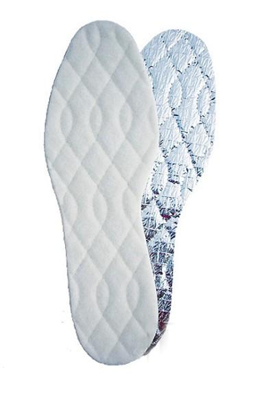 Thermo Lammwolle Einlegesohle mit Alu Kälteschutzschicht Gr. 36-48