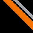 schwarz/orange/zink