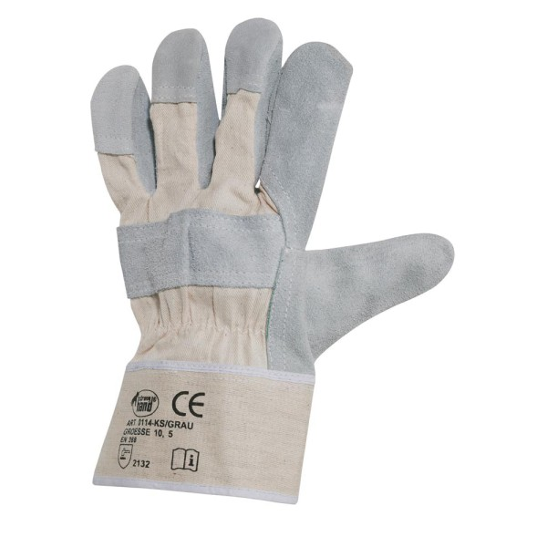 preiswerte Arbeitshandschuhe, Leder-Handschuhe Größe 8-12 *K S* STRONGHAND