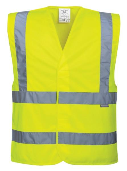 Warnschutzweste gelb Übergröße 4XL 5XL 6XL 7XL