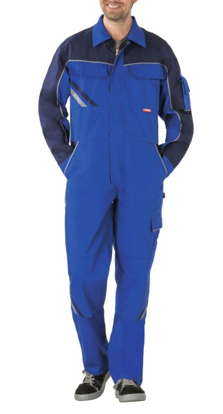 Arbeitskleidung Overall blau