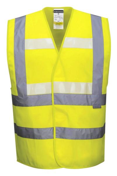 Warnweste Warnschutzweste Leuchtstreifen gelb Portwest-G470-warnbekleidung