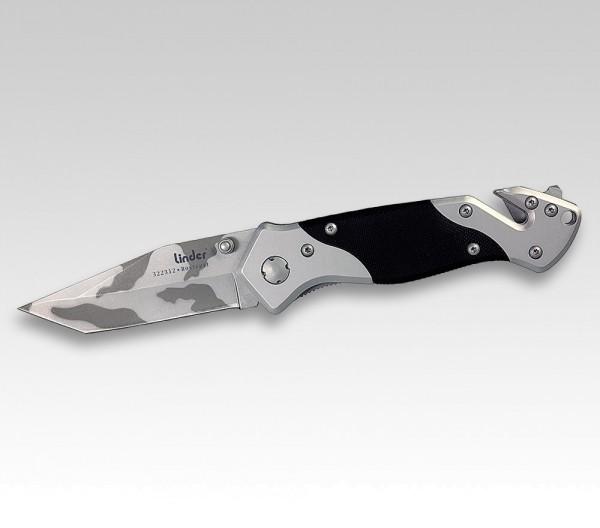 Taschenrettungsmesser camouflage Gurtschneider Messer